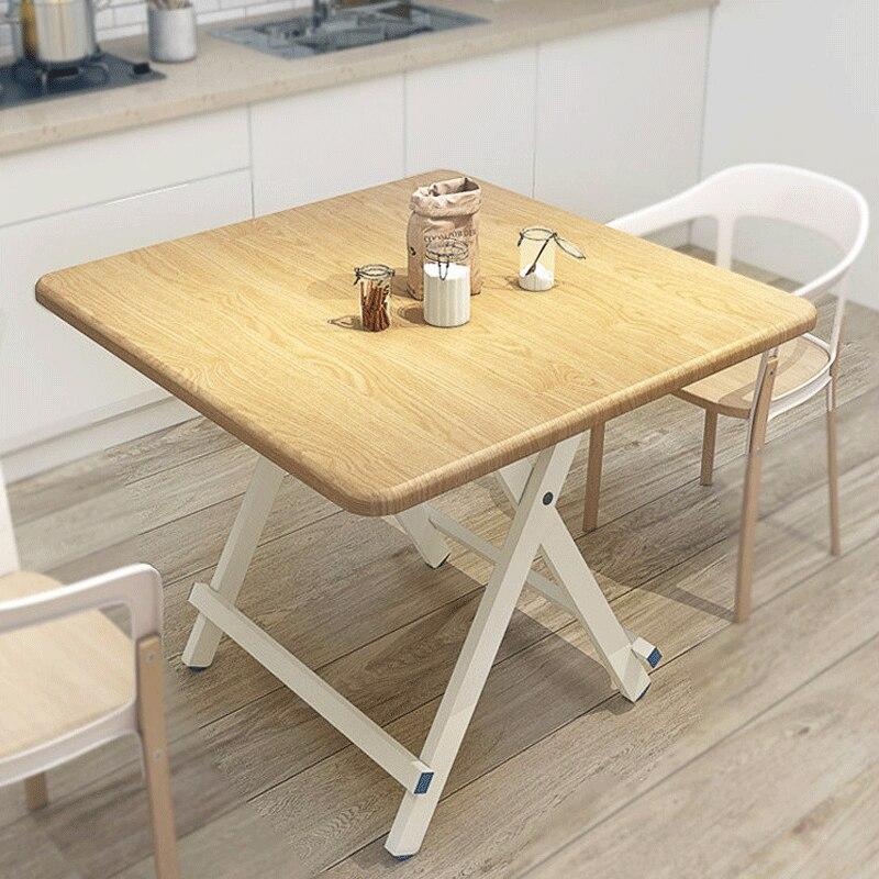 US $56.27 21% di SCONTO Fold Da Cucina Tavolo Da Pranzo di studio A Casa di  scrittura scrivania Tavolino Moderno Per Il Tempo Libero In Legno Tavolo ...