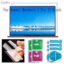 Tablet PC Screen Protector Film For Huawei Matebook X Pro 13.9inch HD Ultra Slim Protection 2Pcs