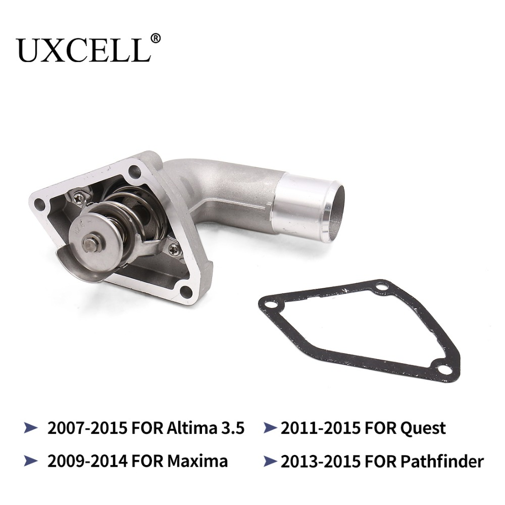 Aliexpress : Buy UXCELL Engine Coolant Thermostat Housing w Gasket 21200 JA10A For Nissan