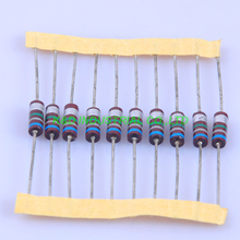 10pcs Carbon Composition vintage Resistor 0.5W 6.8M ohm 5 % цена