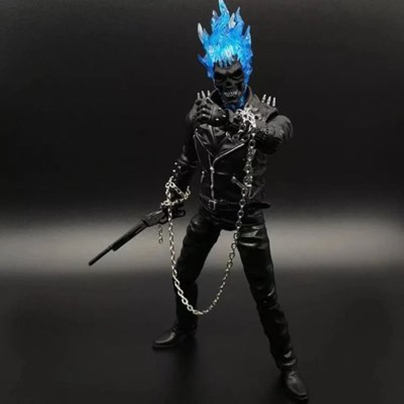 9'' 23cm Ghost Rider PVC Action Figure Ghost Rider Collectible Model Collection Toy Dolls