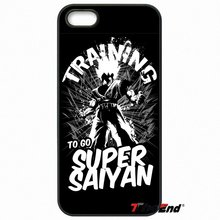 Dragon Ball Training Super Saiyan Case For iPhone 4 4S 5 5S 5C SE 6 6S 7 Plus Samung Galaxy A3 A5 J3 J5 J7