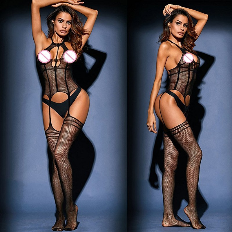 Sexy Lingerie Plus Size Women Lingerie Porno Crotchless Erotic Langerie Sexy Underwear Lenceria Mujer Transparent Women 341WY