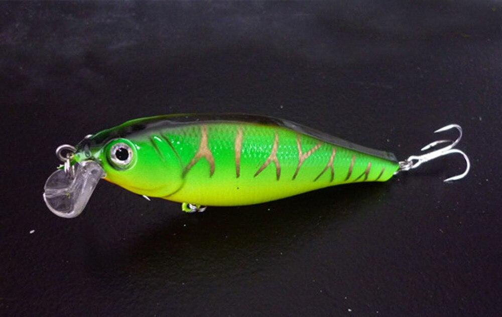 5 шт. рыболовная приманка красный/белый мерцающий тройной блесна с крючком для спиннинга 10 см 14,5 г