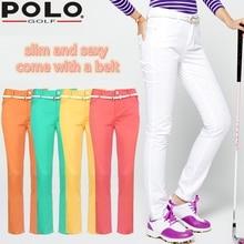 Brand Polo Tour Performance Dri-Fit Slim Elastic Womens Golf Pants Size Women's Premium Pants Modern Rise Sexy Fitness Gym Sport