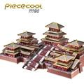 MMZ MODELL Piececool 3D metall puzzle EPANG PALACE Alten Chinesischen Architektur Montage metall Modell kit DIY 3D Laser Cut Modell
