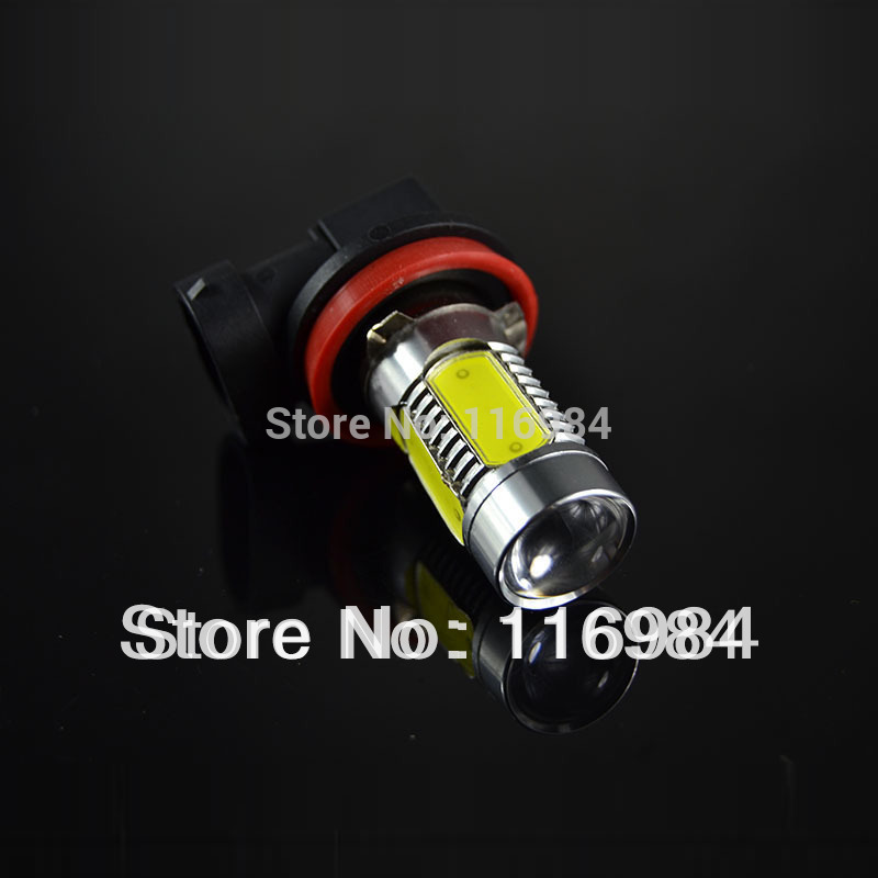 1pcs H11/H8 High Power 11W LED Constant Currency DC 12V White HeadLight Bulb