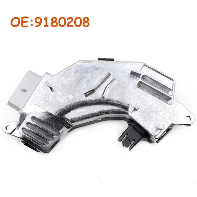 Carro 9180208 aquecedor ventilador resistor para opel vauxhall vectra c signum saab 9-3 fiat croma controle de clima 4 1808449 1808552