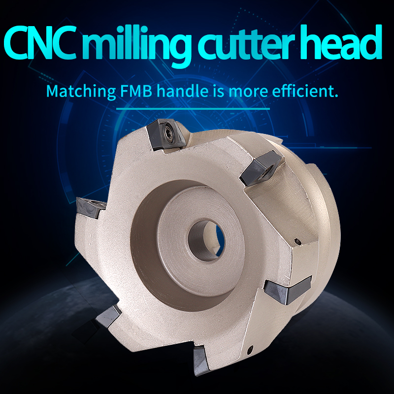 Cnc Endmill shank Plate BAP300R40-22-4T BAP400R50-22-4T Right Angle Milling Cutter Plate 4 Insert Clamped End Mill Milling Tools