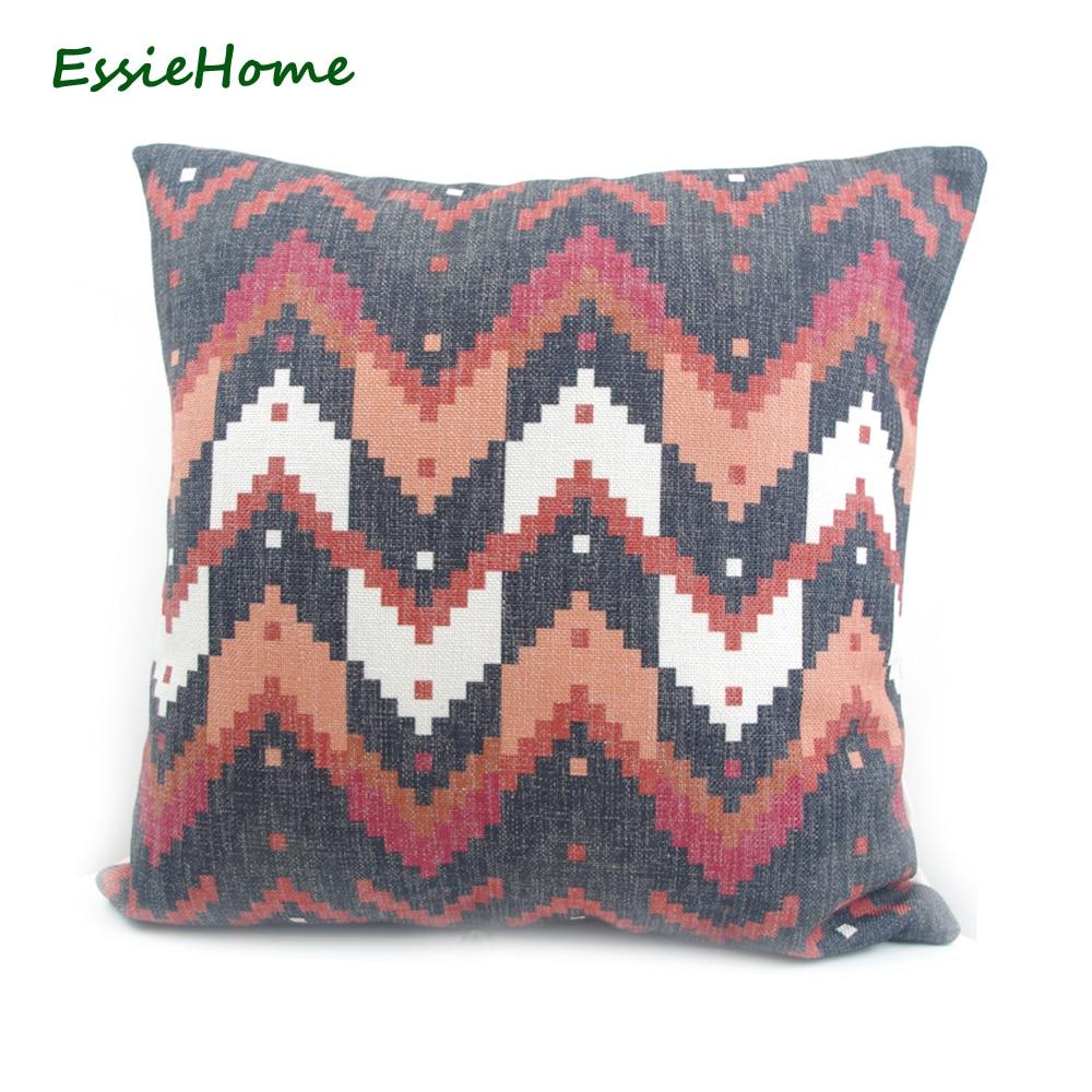 Wysokiej jakości druk cyfrowy ESSIE HOME Czarny turecki wzór - Tekstylia do domu