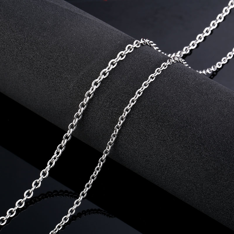 SKA Necklaces For Women Men Fashion Silver color Jewelry Titanium Steel Choker High Quality Unisex Chains Necklaces BN1027