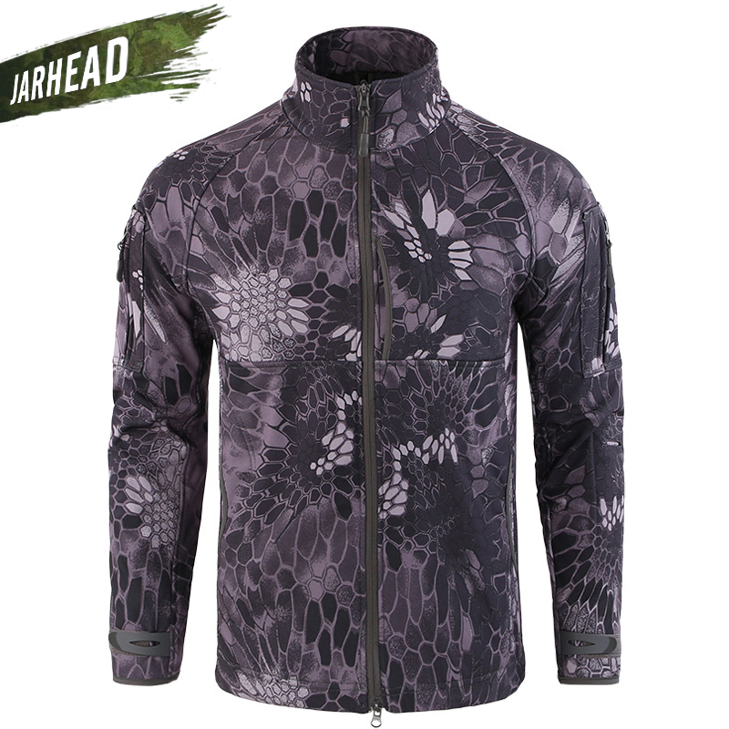 Outdoor Army TAD Commander Shark Skin Soft Shell Jacket High Quality Warm Waterproof Windproof Sports Mens Coats Clothing