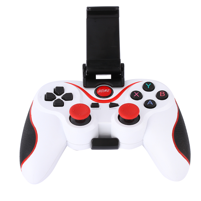 T3 Smartphone Game Gamepad Controller Wireless Bluetooth Joystick With Phone Stand Holder For Android Smartphone Tablet