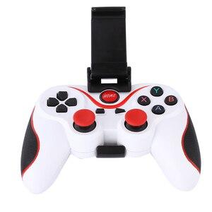 Image 4 - Игровой контроллер T3 для смартфона, беспроводной джойстик Bluetooth с подставкой для телефона, держатель для смартфона Android, планшета