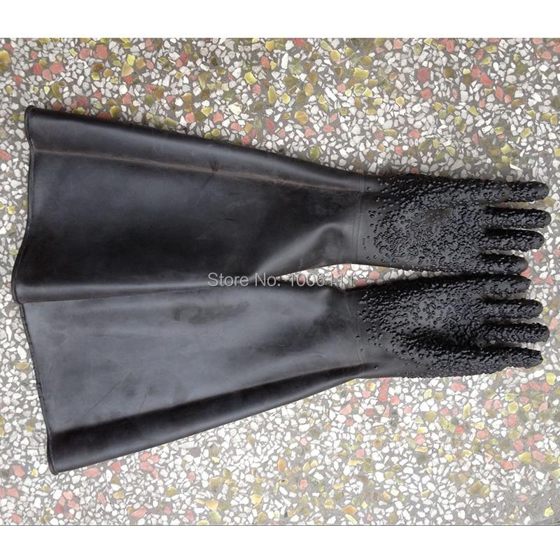 sandblast gloves sandblaster gloves 85cm