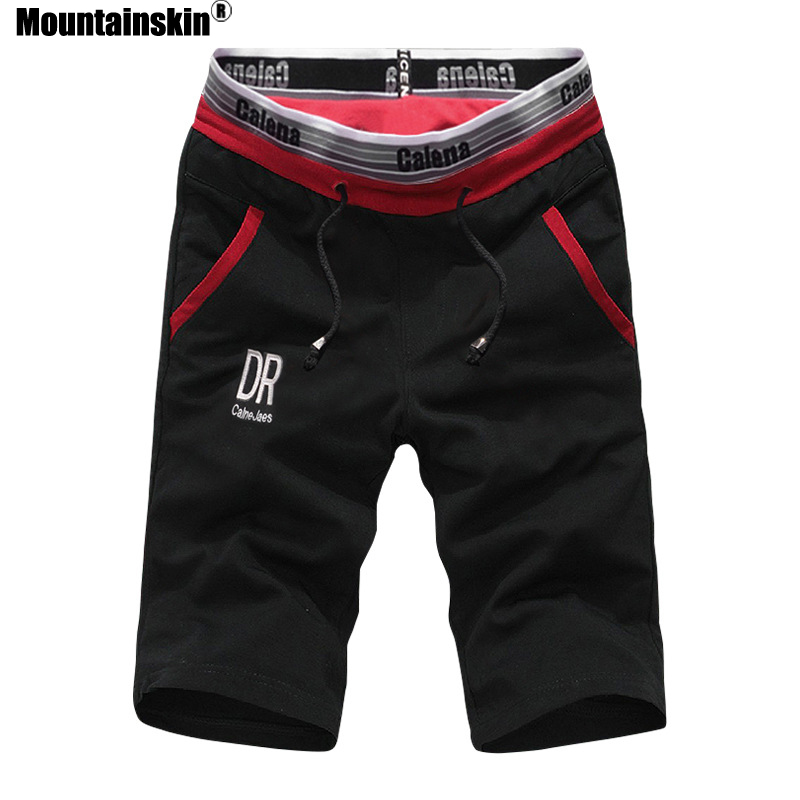 Mountainskin 2018 Summer New Men's Shorts Elastic Waist Jogger Casual Beach Shorts Male Board Shorts Mens Brand Clothing SA493