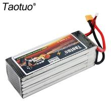 Taotuo Batería Li-polymer Batería de Lipo 22.2 v 10000 mah 30C 6 S XT60/T Enchufable Para RC helicóptero Quadcopter FPV Dron Bateria