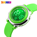 2016 SKMEI Children watch LED Digital Sports Relojes Mujer Boys girls fashion Kids Cartoon Jelly Waterproof Relogio Feminino