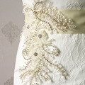 TOPQUEEN FREE SHIPPING S148 Rhinestones Pearls Wedding Belts Wedding sashes,Rhinestones Pearls Bridal Belts Bridal Sashes.