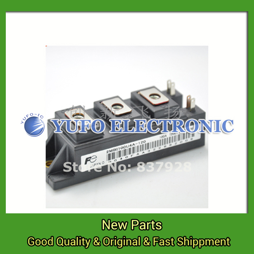 Free Shipping 1PCS  2MBI100U4A-120 Power Modules original new Special supply Welcome to order YF0617 relay pm200dha060 1 pm150dha060 steam pm100dha060 100% pim iq modules