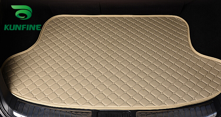 Car Styling Car Trunk Mats for Audi A3 Trunk Liner Carpet Floor Mats Tray Cargo Liner Waterproof 4 Colors Opitional