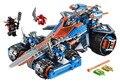 Lepin nexo caballeros estruendo de arcilla hoja combinación marvel building blocks kits juguetes compatible legoe nexus