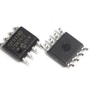 "PIC12F683-I / SN SOP8 12F683-I SN PIC12F683 MCU 8 bitų PIC12 PIC RISC 3.5KB ""Flash 5V Automotive 8-Pin"""
