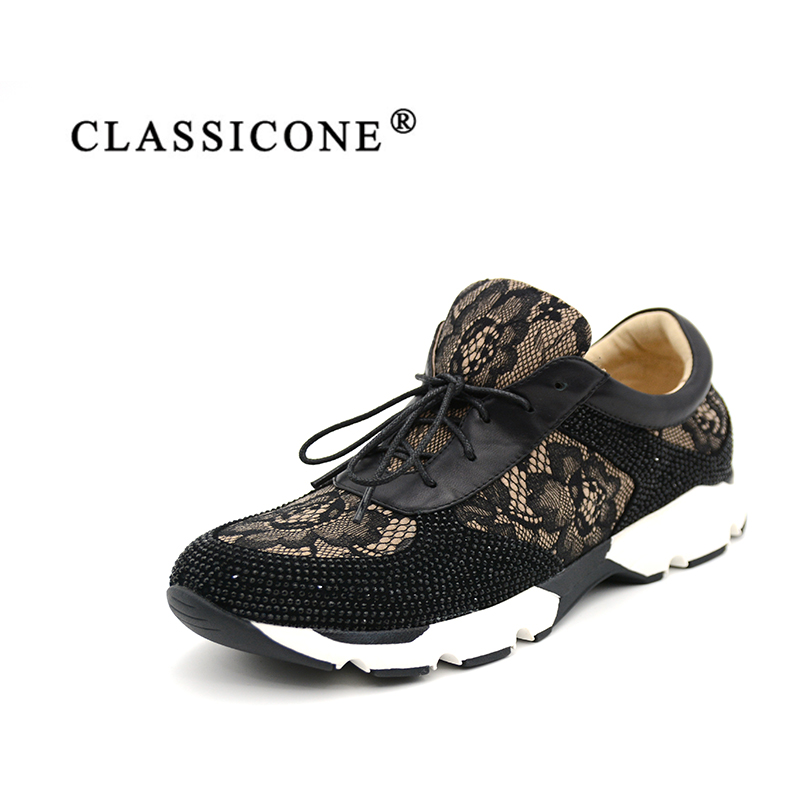 CLASSICONE  woman fashion  shoes Spring/Autumn Lace-Up  Comfortable Genuine leather Round toe  Free shipping front lace up casual ankle boots autumn vintage brown new booties flat genuine leather suede shoes round toe fall female fashion