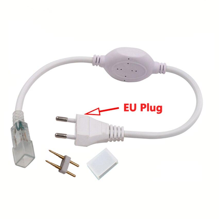 Interruptor del controlador del transformador de la iluminación de la fuente de alimentación de 220V 110V para el accesorio del adaptador del enchufe de corriente de 3014 5050 2835 5630 Lámparas de bombilla Led E27/E26 lámpara de mesa Flexible brazo oscilante abrazadera montaje lámpara Oficina estudio hogar mesa escritorio luz UE/EE. UU. Enchufe AC85-265V