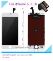 10PCS Lot No Dead Pixel 100 Guarantee Grade AAA Ecran For IPhone 6 LCD Screen Replacement