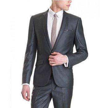 Custom Made Men Suits Formal Dress Men Suit For Men Wedding Suits Groom Tuxedos Groomsmen Groom Wear (Jacket +Pants)