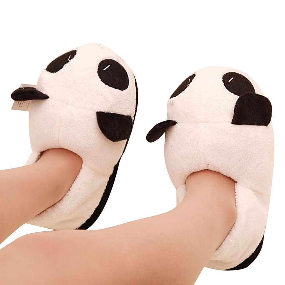 a07002431 Detail Feedback Questions about SAGACE New Fashion Women Ladies Panda  Winter Warm Soft Plush Antiskid Cute Indoor Home Slippers Boys Warm Slippers  on ...