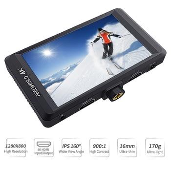 Estabilizador De Cardán Dslr | Feelworld F450 DSLR En Monitor De La Cámara 4K HDMI 4,5