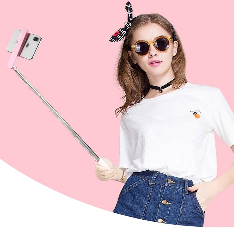 Portable Mini Bluetooth Selfie Stick Cellphones & Telecommunications Mobile Phone Accessories Selfie Sticks