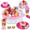 2015 Limitada Nova Multicolor Unisex 13-24 Meses 2-4 Anos Brinquedos Pretend Play da Festa de Aniversário Da Boneca Em Miniatura grande Bolo de Presente Brinquedos