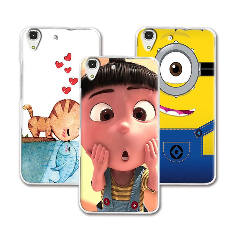 11 Styles Cool Painting Case Cover For Huawei Y6 II Y6 2 5.5