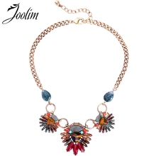 JOOLIM Stunning Semi-precious Statement Collar Necklace Luxe Jewelry Wholesale