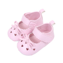 Huang Neeky W#5 Comfortable Newborn Infant Baby Girls Crib Shoes