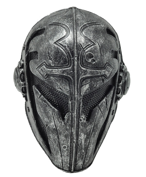 paintball airsoft wire mesh templar fabric plastic mask