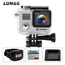 "SUNGO Acción Cámara 4 k impermeable Remoto WiFi Ultra HD 1080 P/30fps 2.0 ""170D Novatek96660 Sport mini cámara de Casco"