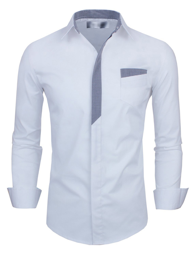 Popular cover check buy cheap cover check lots from china for Mens dress shirt button covers