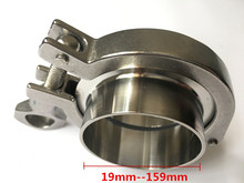 A Set 38mm Pipe O/D Sanitary 1.5 Tri Clamp Weld Ferrule + Tri Clamp + Silicon Gasket 304 Stainless Steel For Homebrew цена