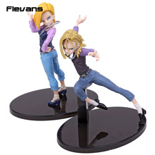 Anime Dragon Ball Z Scultures GRAND Android NO 18 PVC Figure Collection Modèle Jouet 2 Styles