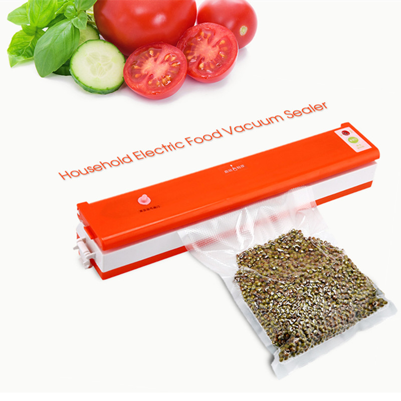 Household Electric Vacuum Sealer Food Low Noise Automatic Vacuum Motor Packing Plastic Sealing Machine Home Kitchen Appliances household product plastic dustbin mold makers