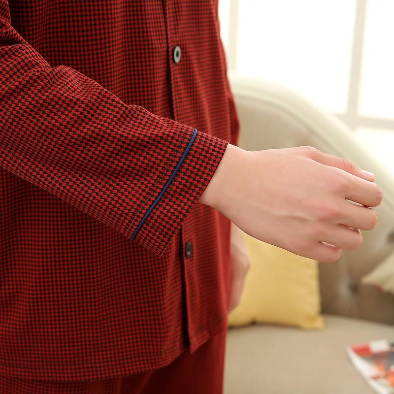 Men\'s Cotton Polyester Pajama Sets RBS-C LYQ1414 32