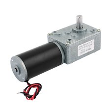 цена на UXCELL DC 12V 5RPM 8mmx14mm D-Shape Shaft Electric Power Turbo Worm Geared Motor Hot Sale