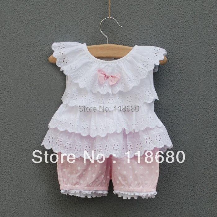 חדש 2014 התינוק & בגדי ילדים ערכות קיץ של - ביגוד לתינוקות
