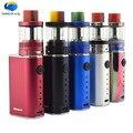 Moda mejor cigarrillo electrónico 10-50 w caja mod e vape starter kit con electrónico batería variable de vapor eléctrico mods China