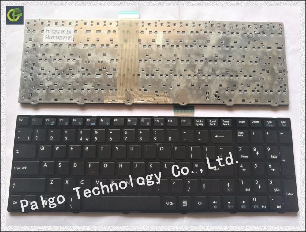 New English Keyboard for MSI CR61 MS16GB MS16GA GX60 CX70 CX-61 MS-1758 MS-1755 MS-175A laptop keyboard russian keyboard for msi a6200 cr620 cx705 s6000 cr61 ms 1681 ms 1736 cx705 ms16gb ms16ga ge60 cx70 cx61 v111922ak3 black ru