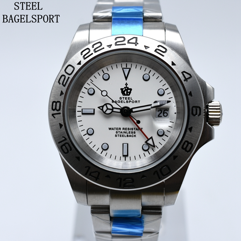 Full Steel Automatic Mechanical Watch Classic Men Male Clocks